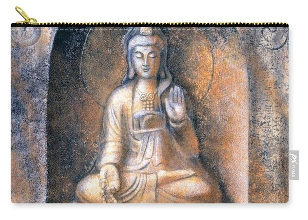 Kuan Yin Meditating Carry-all Pouch