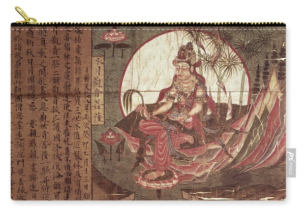 Kuanyin Goddess Of Compassion Carry-all Pouch