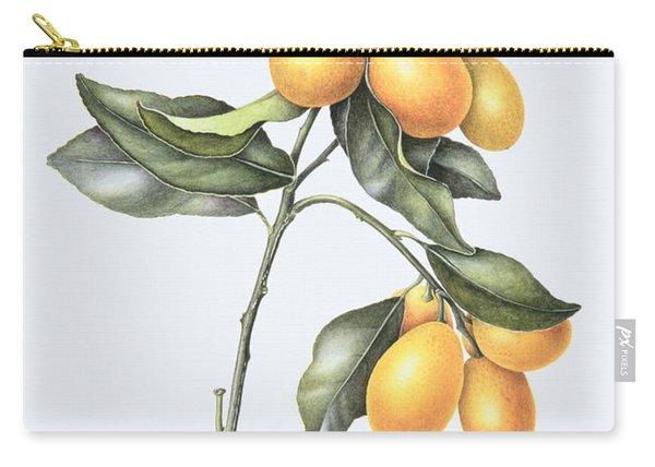 Kumquat Carry-all Pouch