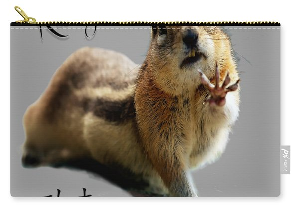 Kung Fu Chipmunk Carry-all Pouch