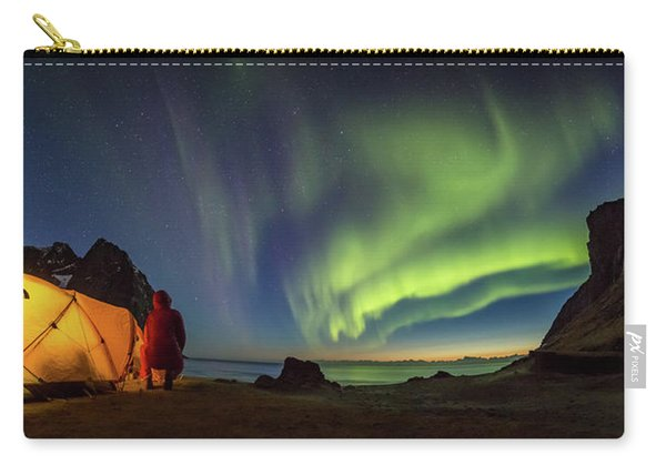Kvalvika Under The Lights Carry-all Pouch