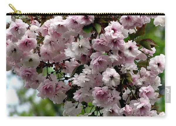 Japanese Cherry Tree Blossoms Highland Park Rochester Ny Watercolor Effect Carry-all Pouch