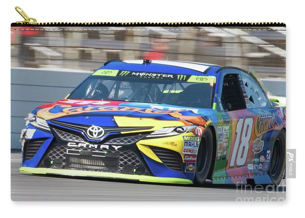 Kyle Busch Coming Out Of Turn 1 Carry-all Pouch