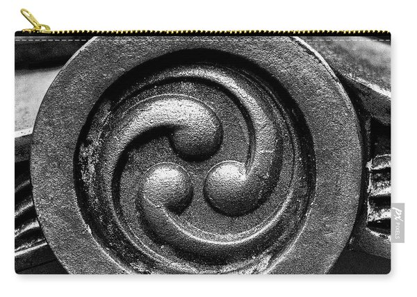 Kyoto Temple Roof Tile Detail Carry-all Pouch