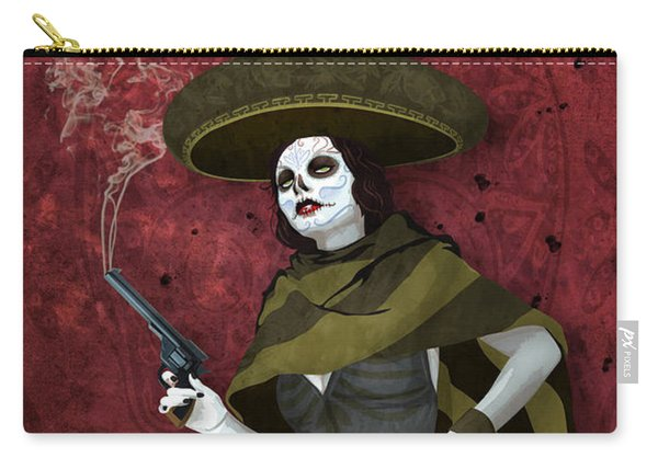 La Bandida Muerta Carry-all Pouch