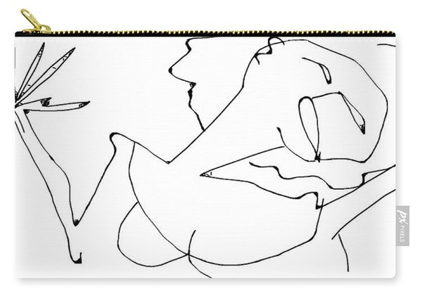 La Chanteuse Carry-all Pouch