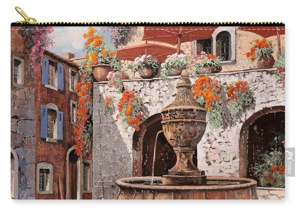 la fontana a St Paul de Vence Carry-all Pouch