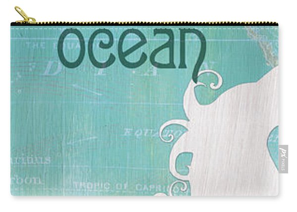 La Mer Mermaid 1 Carry-all Pouch