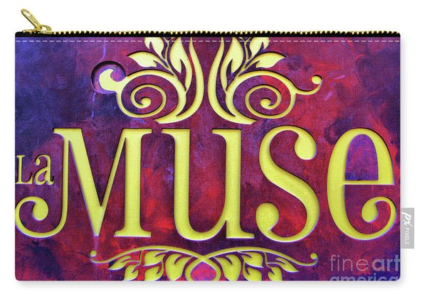 La Muse, Sign Carry-all Pouch