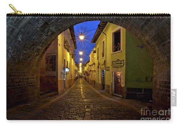 La Ronda Calle In Old Town Quito, Ecuador Carry-all Pouch