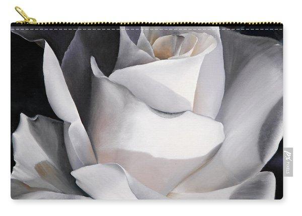 La Rosa Bianca Carry-all Pouch