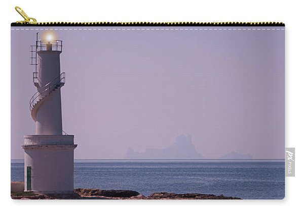 La Sabina Lighthouse Formentera And The Island Of Es Vedra Carry-all Pouch