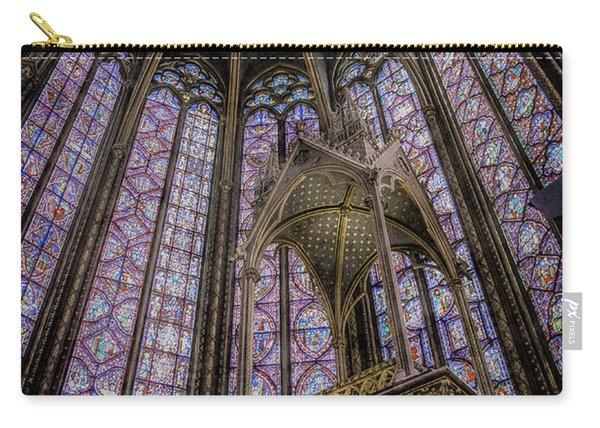 Paris, France - La-sainte-chapelle - Apse And Canopy Carry-all Pouch