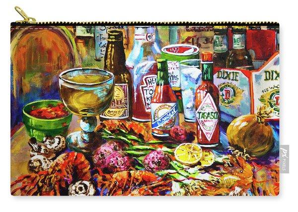 La Table De Fruits De Mer Carry-all Pouch