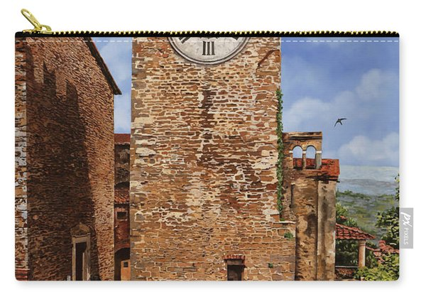 La Torre Del Carmine-montecatini Terme-tuscany Carry-all Pouch