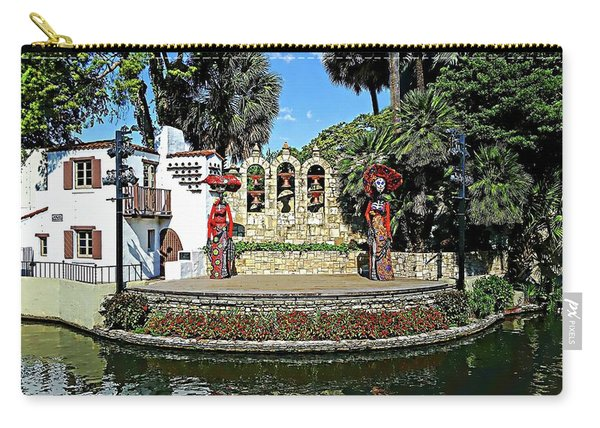 La Vallita - Day Of The Dead Carry-all Pouch