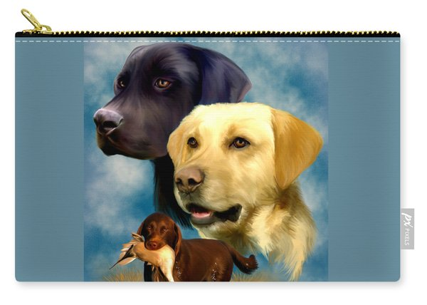 Labrador Retrievers Carry-all Pouch