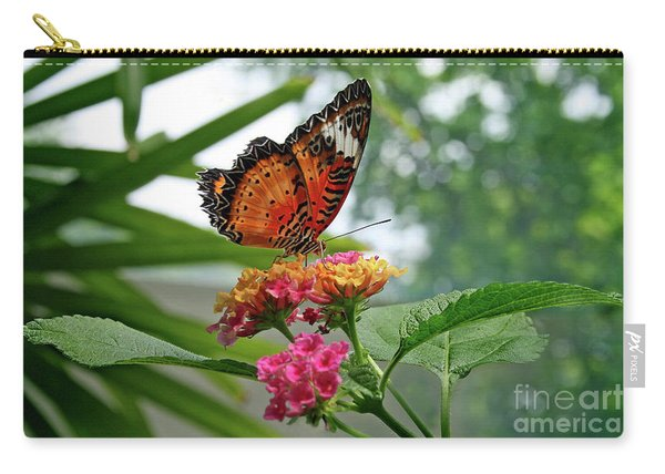 Lacewing Butterfly Carry-all Pouch