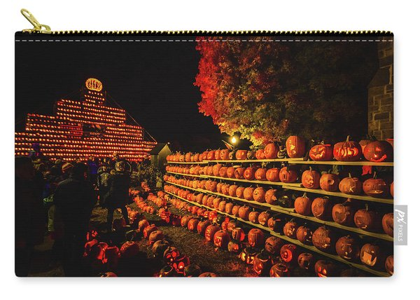 Laconia Pumpkin Festival Graphic Design 3 Carry-all Pouch