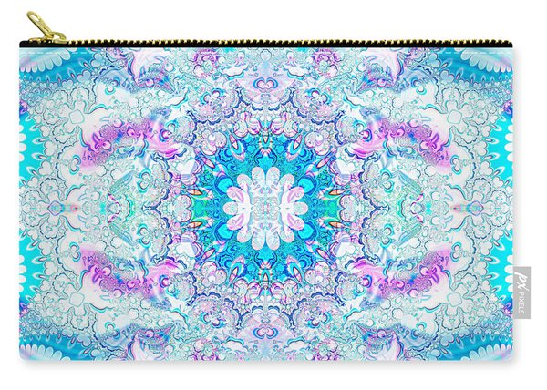 Lacy Mandala Carry-all Pouch