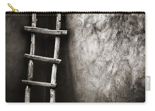 Ladder In Truchas New Mexico Carry-all Pouch