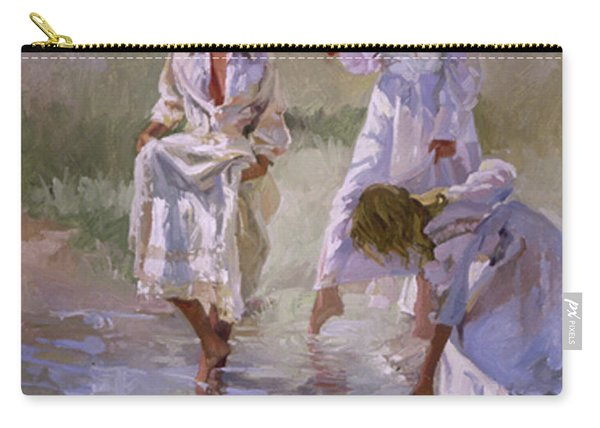 Ladies And Lilies Carry-all Pouch