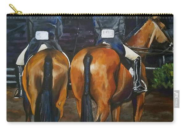 Ladies At Sussex Hunt Night Carry-all Pouch