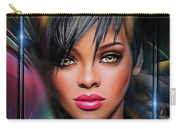 Lady Beautiful Carry-all Pouch