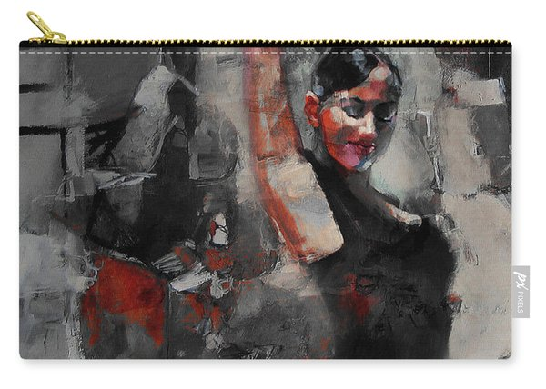 Lady In A Tango Dance Pose  Carry-all Pouch