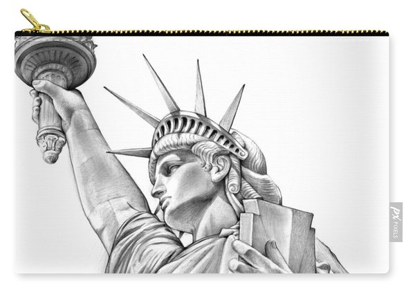 Lady Liberty Carry-all Pouch