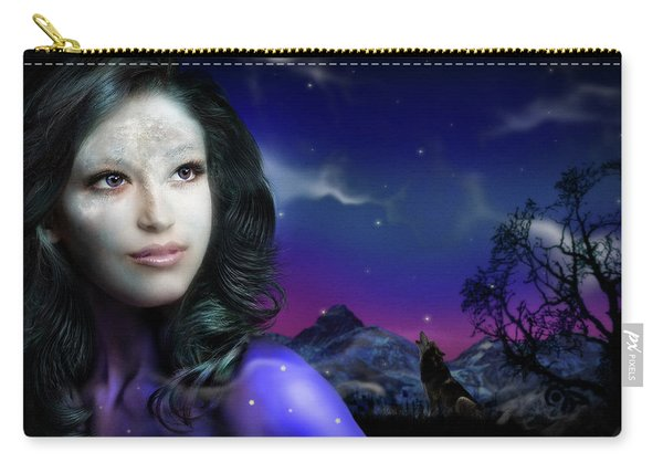 Lady Moon Carry-all Pouch