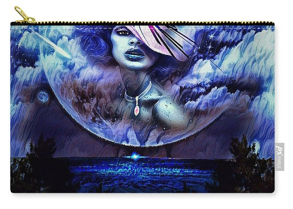 Lady Moon Light  Carry-all Pouch