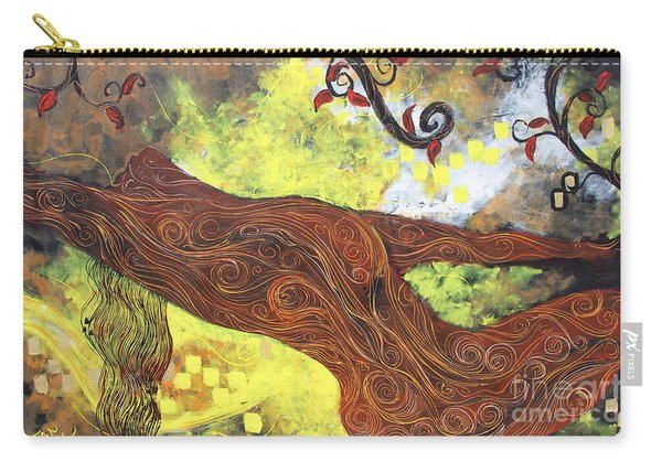 Lady Of Elation Carry-all Pouch