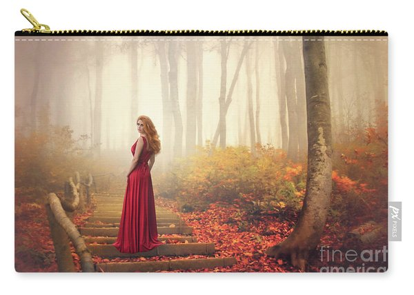 Lady Of The Golden Forest Carry-all Pouch