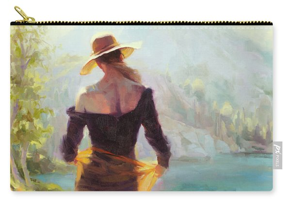 Lady Of The Lake Carry-all Pouch