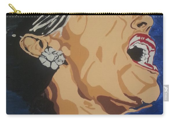 Lady Sings The Blues Carry-all Pouch