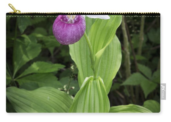 Lady Slipper Flower Carry-all Pouch