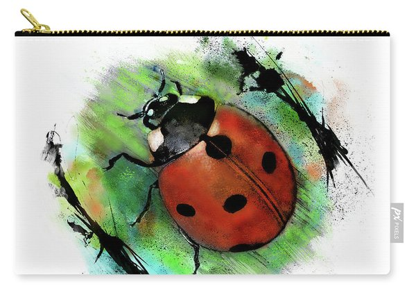 Ladybug Drawing Carry-all Pouch