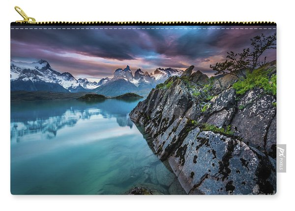 Lago Pehoe Twilight Carry-all Pouch