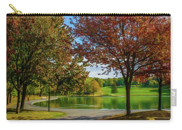 Lagoon Park In Montreal Carry-all Pouch