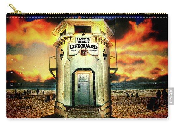 Laguna Beach Lifeguard Hq Carry-all Pouch