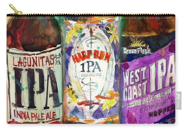 Lagunitas Ipa, Harpoon Ipa, West Coast Ipa Beer Carry-all Pouch