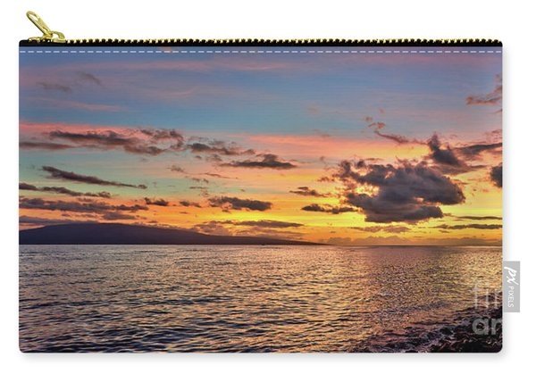 Lahaina Sunset Panorama Carry-all Pouch