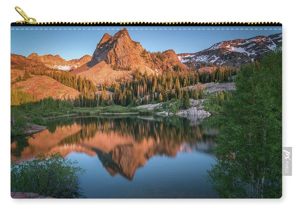 Lake Blanche At Sunset Carry-all Pouch
