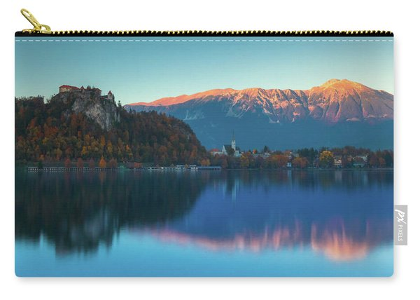 Lake Bled Panorama Carry-all Pouch