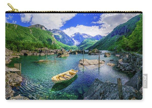 Lake Bondhusvatnet Carry-all Pouch