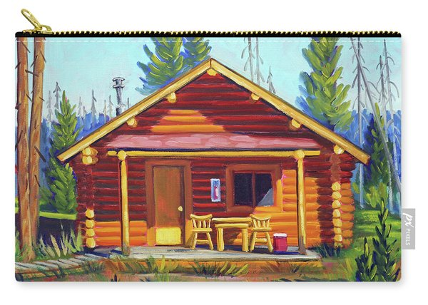 Lake Cabin Carry-all Pouch