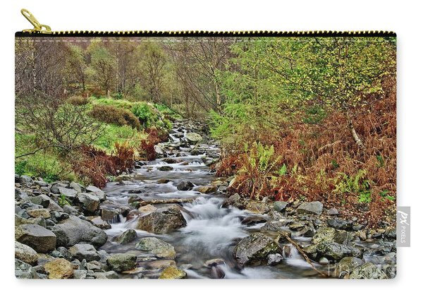 Lake District Autumn Stream Carry-all Pouch