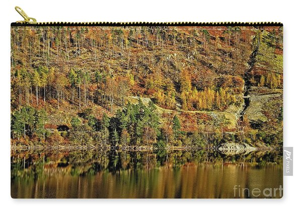 Lake District Autumn Tree Reflections Carry-all Pouch