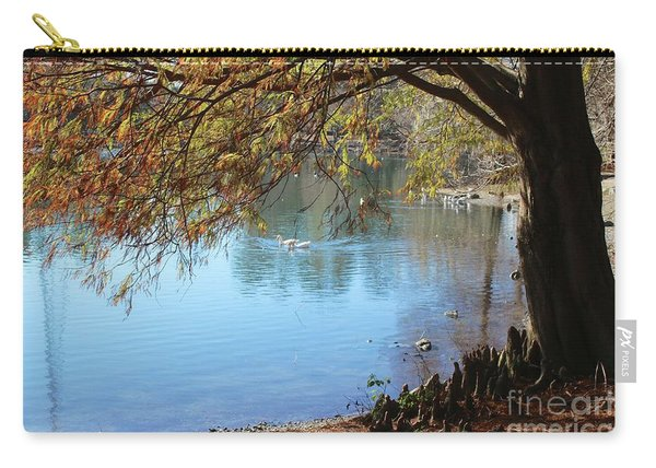 Lake Ella Winter Cypress Carry-all Pouch